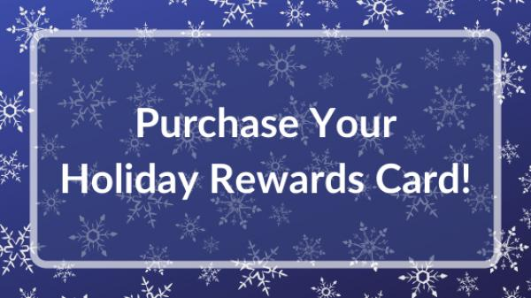 Purchase Holiday Rewards Card Button